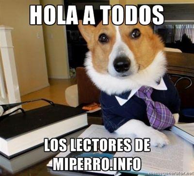 Hoy un poco de humor: el perro abogado.