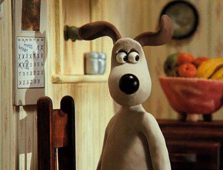 Perros estrella,hoy: Gromit