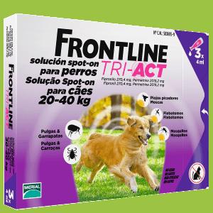 Pipetas para perros Frontline Tri Act