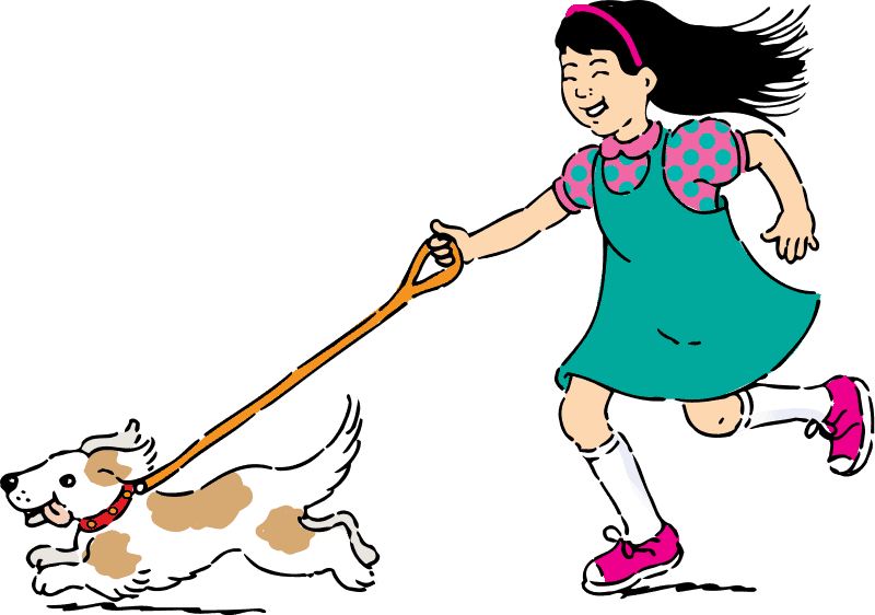 Pasear con mi perro en verano