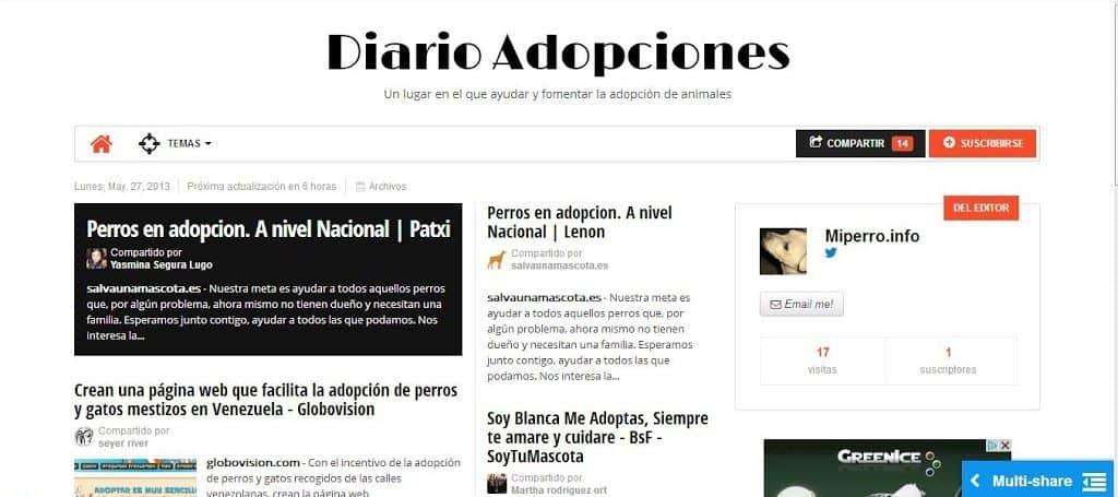 Diario Adopciones 2