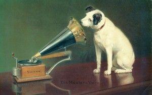 Historias con perro: Nipper, un can muy marchoso